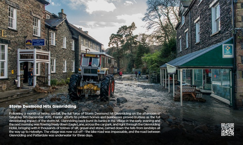 Glenridding Village After the December Floods
